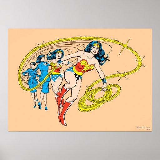 Wonder Woman Transform Print