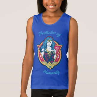 Wonder Woman Tri-Color Graphic Singlet
