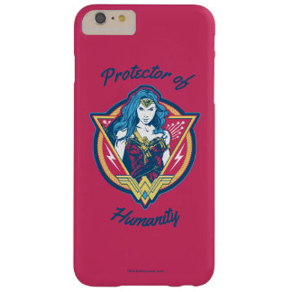 Wonder Woman Tri-Color Graphic Template Barely There iPhone 6 Plus Case