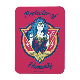 Wonder Woman Tri-Color Graphic Template Magnet