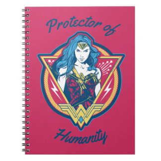 Wonder Woman Tri-Color Graphic Template Notebook