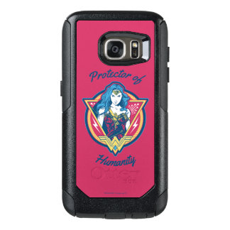 Wonder Woman Tri-Color Graphic Template OtterBox Samsung Galaxy S7 Case
