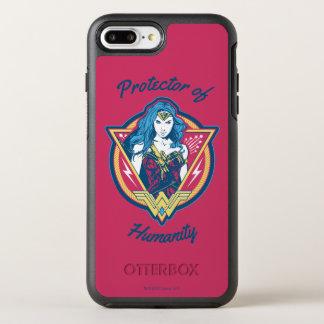 Wonder Woman Tri-Color Graphic Template OtterBox Symmetry iPhone 8 Plus/7 Plus Case
