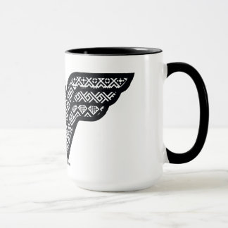 Wonder Woman Tribal Pattern Mug