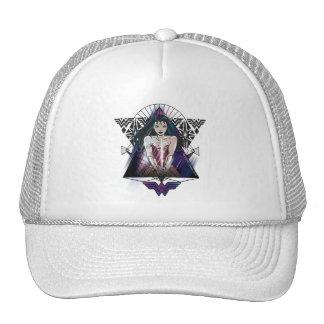 Wonder Woman Tribal Triangle Cap