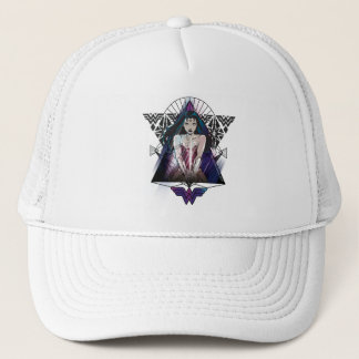 Wonder Woman Tribal Triangle Trucker Hat