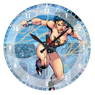 Wonder Woman Trinity Comic Cover #16 Large Clock