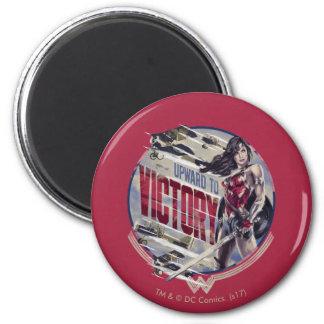 Wonder Woman Upward To Victory Magnet