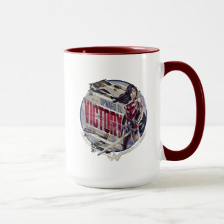 Wonder Woman Upward To Victory Mug