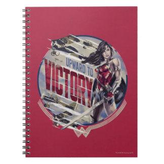 Wonder Woman Upward To Victory Notebook