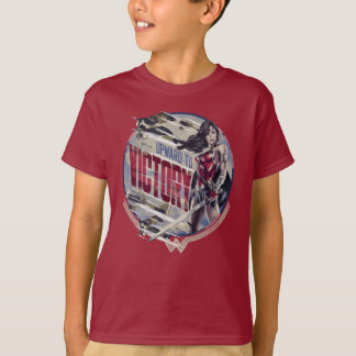 Wonder Woman Upward To Victory T-Shirt