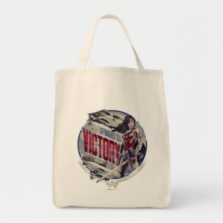 Wonder Woman Upward To Victory Tote Bag