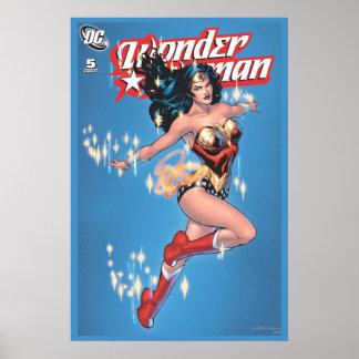 Wonder Woman Vintage Comic Cover Poster
