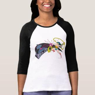Wonder Woman vs Robot Tee Shirt