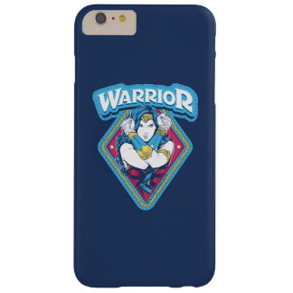 Wonder Woman Warrior Graphic Barely There iPhone 6 Plus Case