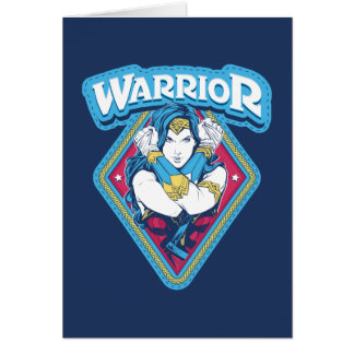 Wonder Woman Warrior Graphic Card