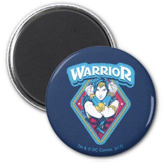 Wonder Woman Warrior Graphic Magnet