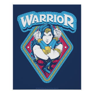 Wonder Woman Warrior Graphic Poster