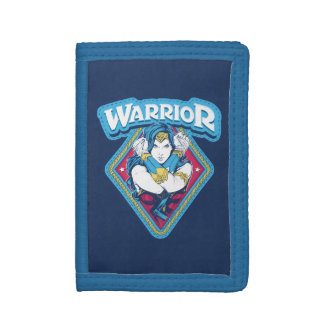 Wonder Woman Warrior Graphic Trifold Wallet
