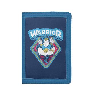 Wonder Woman Warrior Graphic Trifold Wallet