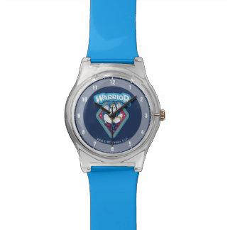 Wonder Woman Warrior Graphic Watch