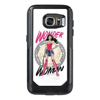 Wonder Woman With Greek Tribal Emblem OtterBox Samsung Galaxy S7 Case