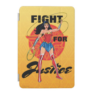 Wonder Woman With Lasso - Fight For Justice iPad Mini Cover