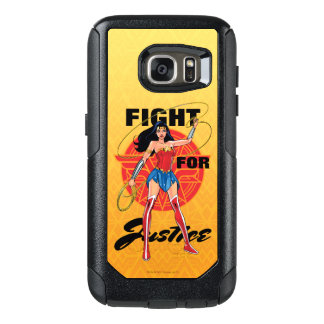 Wonder Woman With Lasso - Fight For Justice OtterBox Samsung Galaxy S7 Case