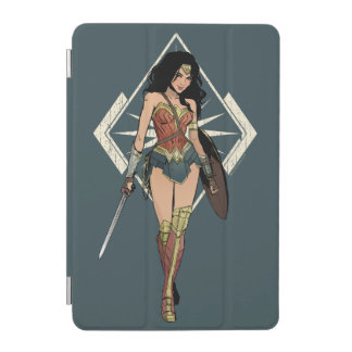 Wonder Woman With Sword Comic Art iPad Mini Cover