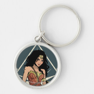 Wonder Woman With Sword Comic Art Key Ring