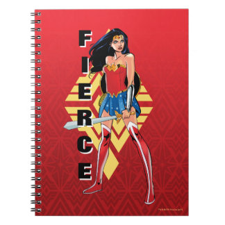 Wonder Woman With Sword - Fierce Notebook