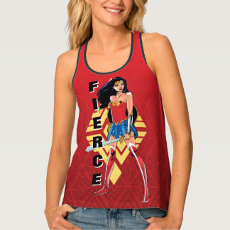 Wonder Woman With Sword - Fierce Singlet