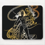 Wonder Woman Yellow Fade Mouse Pad