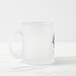 """Wonder World"" - Eye Frosted Glass Mug"