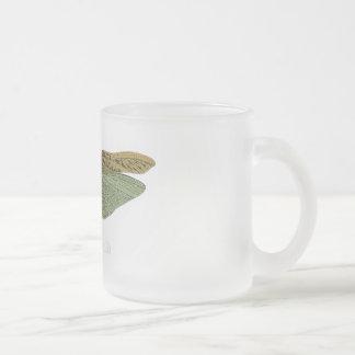 """Wonder World"" - Locust Frosted Glass Mug"
