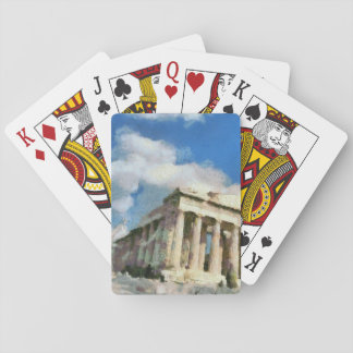 Wonderful Acropolis in Athens Playing Cards