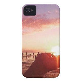 Wonderful and Incredible Sunset in the Philippines iPhone 4 Cases