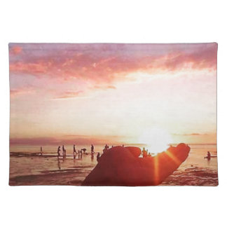 Wonderful and Incredible Sunset in the Philippines Placemat