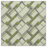 Wonderful Arts & Crafts Geometric Patterns in Tran Fabric