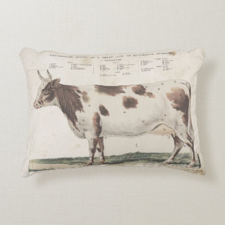 Wonderful & beautiful vintage cow pillow. decorative cushion