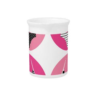 Wonderful bikini on pink pitcher
