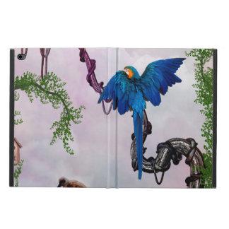Wonderful blue parrot powis iPad air 2 case