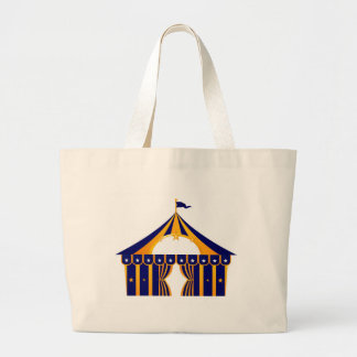 Wonderful blue Tent Large Tote Bag