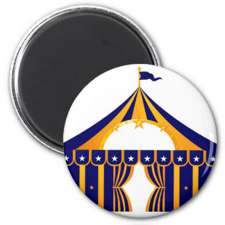 Wonderful blue Tent Magnet