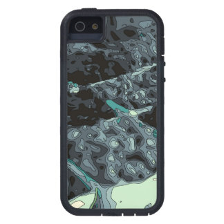Wonderful Blueberry Foods and Deserts iPhone 5 Case