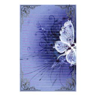 Wonderful Butterflies Pixel Art Stationery
