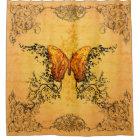 Wonderful butterflies shower curtain