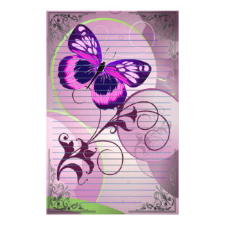 🦋Wonderful Butterflies Stationery
