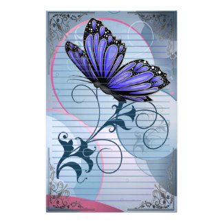 Wonderful Butterflies Stationery