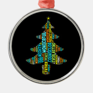 Wonderful Counselor Mighty God Prince of Peace Ornament
